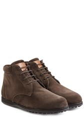 Ludwig Reiter Suede Ankle Boots Brown
