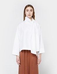 Rodebjer Evans Top In White