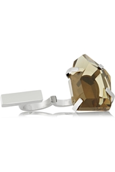 By Malene Birger Juliane Stainless Steel And Resin Two Finger Ring