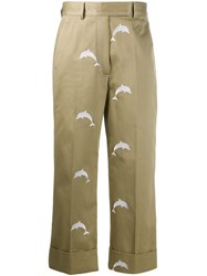 Thom Browne Dolphin Embroidery Chino Trousers 60