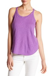 Chaser Strappy Back Tank Purple