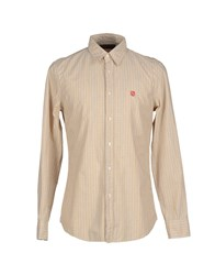 Replay Shirts Shirts Men Ocher