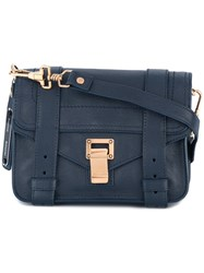 Proenza Schouler Mini Ps1 Crossbody Bag Blue