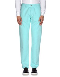 Dirk Bikkembergs Trousers Casual Trousers Men Turquoise