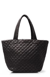 M Z Wallace Mz 'Medium Metro' Quilted Oxford Nylon Tote Black
