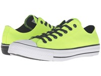Converse Chuck Taylor All Star Variable Box Woven Ox Volt White Black Lace Up Casual Shoes