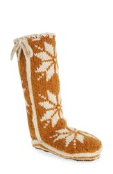 Woolrich 'Chalet' Socks Cathay Spice Fabric