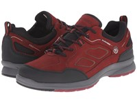 Allrounder By Mephisto Dascha Tex Black Rubber Winter Red G Nubuck Women's Lace Up Casual Shoes Brown