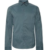 Arc'teryx Elaho Ls Slim Fit Checked Alatorre Shirt Gray