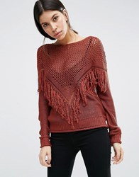 Vero Moda Tunic Top Henna Orange