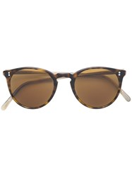 Oliver Peoples O'mailley Sunglasses Brown
