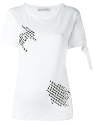 J.W.Anderson Studded Detail T Shirt White