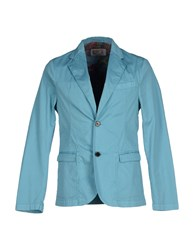 Department 5 Suits And Jackets Blazers Men Azure
