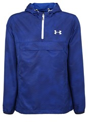 Under Armour Sportstyle Tracksuit Top Royal White Blue