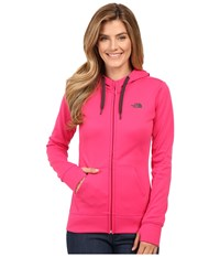 The North Face Fave Full Zip Hoodie Cabaret Pink Asphalt Grey Women's Sweatshirt