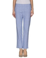 Au Jour Le Jour Casual Pants Blue