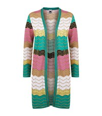 M Missoni Zig Zag Lurex Cardigan Female Multi