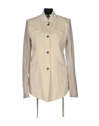Lost And Found Lost And Found Suits And Jackets Blazers Women Beige