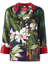 F.R.S For Restless Sleepers Floral Print Blazer