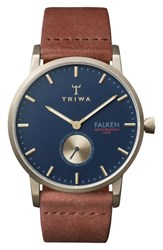 Triwa Loch Falken Organic Leather Strap Watch 38Mm
