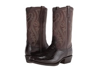 Ariat River Walk Chocolate Gator Print Cowboy Boots Brown