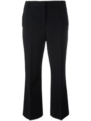 Alexander Wang Cropped Trousers Black