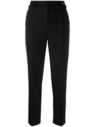 Red Valentino Buckle Detail Trousers Black