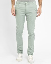 Knowledge Cotton Apparel Aqua Stretch Slim Fit Chinos