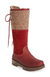 Bos. And Co. 'Ginger' Waterproof Mid Calf Platform Boot