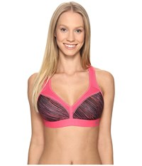 Champion Curvy Bra String Theory Melon Punch Pink Women's Bra
