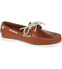 Ralph Lauren Telford Boat Shoes Brown