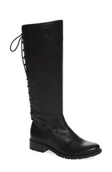 Sofft Women's 'Sharnell' Riding Boot Black Leather