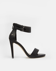 Blink Barely There Heeled Sandals Blackpu