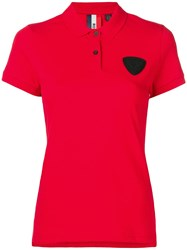 Rossignol Patch Detail Polo Shirt Red