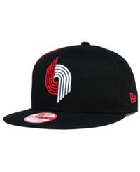 New Era Portland Trail Blazers Panel Pride 9Fifty Snapback Cap
