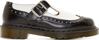 Comme Des Garcons Black And White Dr. Martens Edition Mary Janes