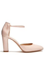 Gianvito Rossi 54 Patent Leather Pumps Light Pink