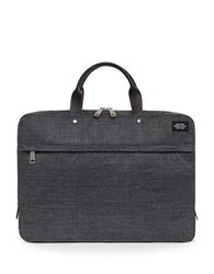 Jack Spade Tech Oxford Slim Briefcase Grey