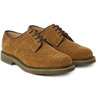 Church's Riverton Suede Wingtip Brogues Tan