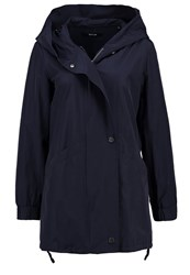 Opus Henrika Short Coat Reliable Blue Dark Blue
