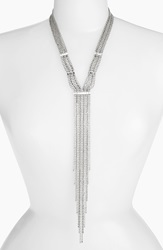 Cristabelle 'Waterfall' Y Necklace Crystal