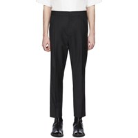 Ann Demeulemeester Black Wool Trousers