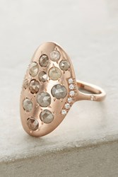 Anthropologie Diamond Galaxy Ring Gold