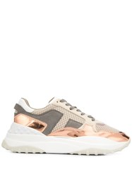 Tod's Contrast Panel Low Top Trainers 60
