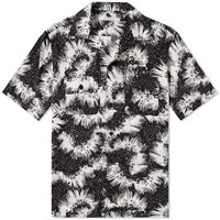 Givenchy Urchin Print Vacation Shirt Blue