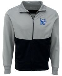 Antigua Men's Memphis Tigers Start Jacket Gray Black