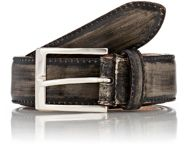 Harris Burnished Effect Belt Colorless