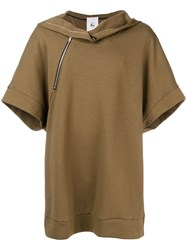 Lost And Found Rooms Hooded Sweatshirt Brown