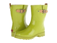 Chooka Top Solid Mid Rain Boot Chartreuse Women's Rain Boots Yellow