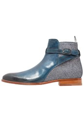 Melvin And Hamilton Kane 1 Boots Jeans Mid Blue Denim Light Blue